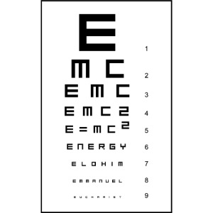 E=mc2 and the Holy Eucharist