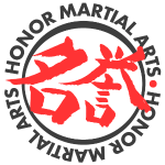 Honor Martial Arts Kanji Design Dark Shirts