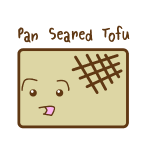 Cute Tofu: Pan Seared