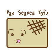 Design ~ Cute Tofu: Pan Seared