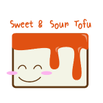 Cute Tofu: Sweet & Sour
