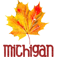 Design ~ Autumn Michigan Leaf
