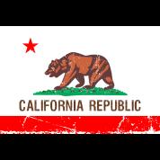 california Vintage Flag