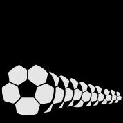 Soccer Player Ball Goal Shoot 2c