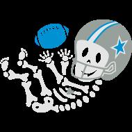 Design ~ Football Cowboys Skelly