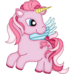 Pinkie  the Pink Unicorn Girl
