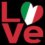 Italian LOVE in Red