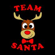 team santa reindeer male