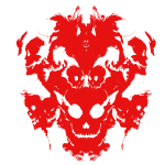 Inkblot Red