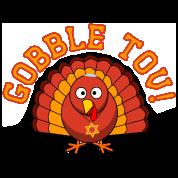 Gobble Tov Thanksgivukkah Turkey