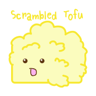Design ~ Cute Tofu: Scrambled