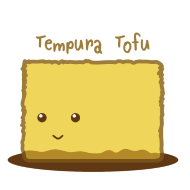 Design ~ Cute Tofu: Tempura
