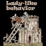 Lady-like behavior