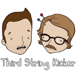 Third String Kicker Logo