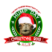 Hump Day Christmas Ale Label