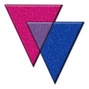 Bisexual Pride Triangles