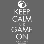 VG Keep Calm white