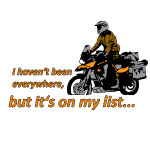 Dualsport - it's on my list (lightcolored shirt)