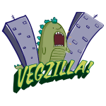 Vegzilla Logo (Cool Gray)