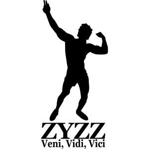 Zyzz Veni, Vidi, Vici Silhouette