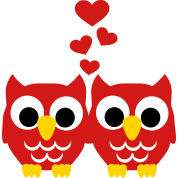 Chouette Hibou Amour