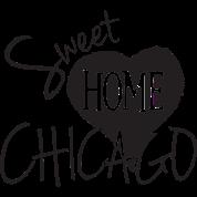Sweet Home Chicago Heart Love Cute Shirt