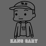 Gary outline with Name