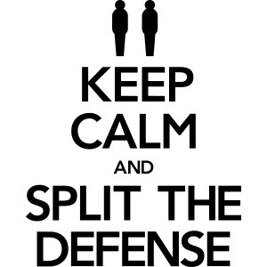Keep Calm & Split the Defense