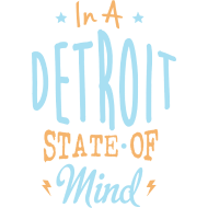 Design ~ A Detroit State Of Mind Clothing Apparel Shirts