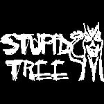 Stupid Tree Disc Golf Shirt - White Print