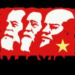 Marx Lenin and Engels Coffee Mug