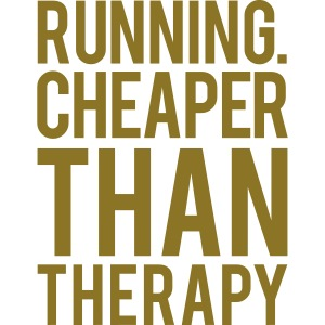 Running cheaper than therapy
