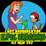 Epic Unboxing (I Got Grounded)