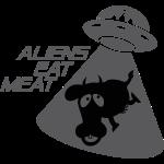 SKYF-01-060 alien eats meat