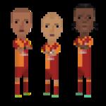 Gala trio
