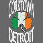 Corktown Detroit Irish Shamrock Clothing Apparel