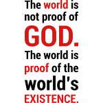 World's Existence