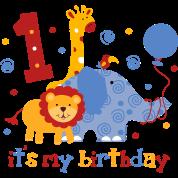 Safari 1st Birthday T-Shirt | Spreadshirt