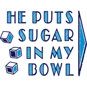 sugar in bowl - for women