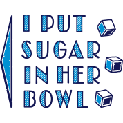 sugar in bowl - for men