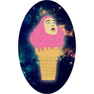 pinkguy icrecream beme