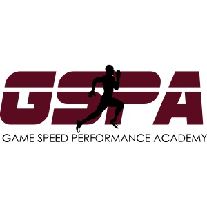 new gspa logo word 6inch red