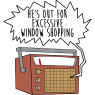 Design ~ Out For Excessive WIndow Shopping