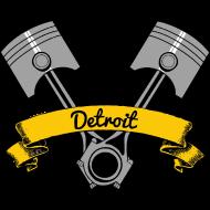 Design ~ Motor City Pistons Banner