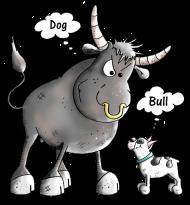 Funny French Bulldog Cartoon Hoodie | Spreadshirt