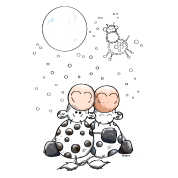 Romantic Cows - Star - Cow