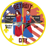 Design ~ Detroit Rockin City Seal