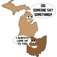Design ~ Michigan Goofin With Ohio