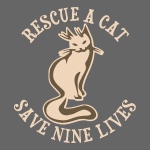 Rescue A Cat Save Nine Lives