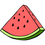 Watermelon Wedge